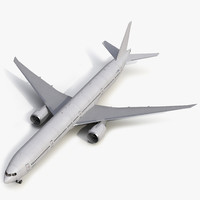 3d model boeing 777 9x generic