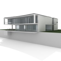 3d model swiss villa
