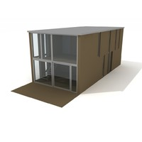 3d house summer model