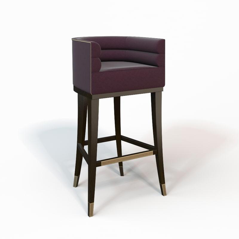 3d maa bar chair