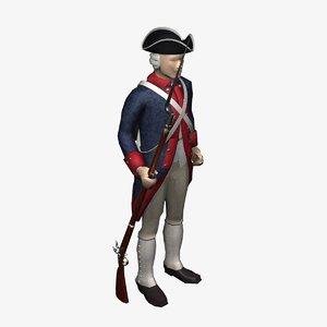 american revolution soldier max