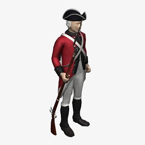 max british soldier uniform