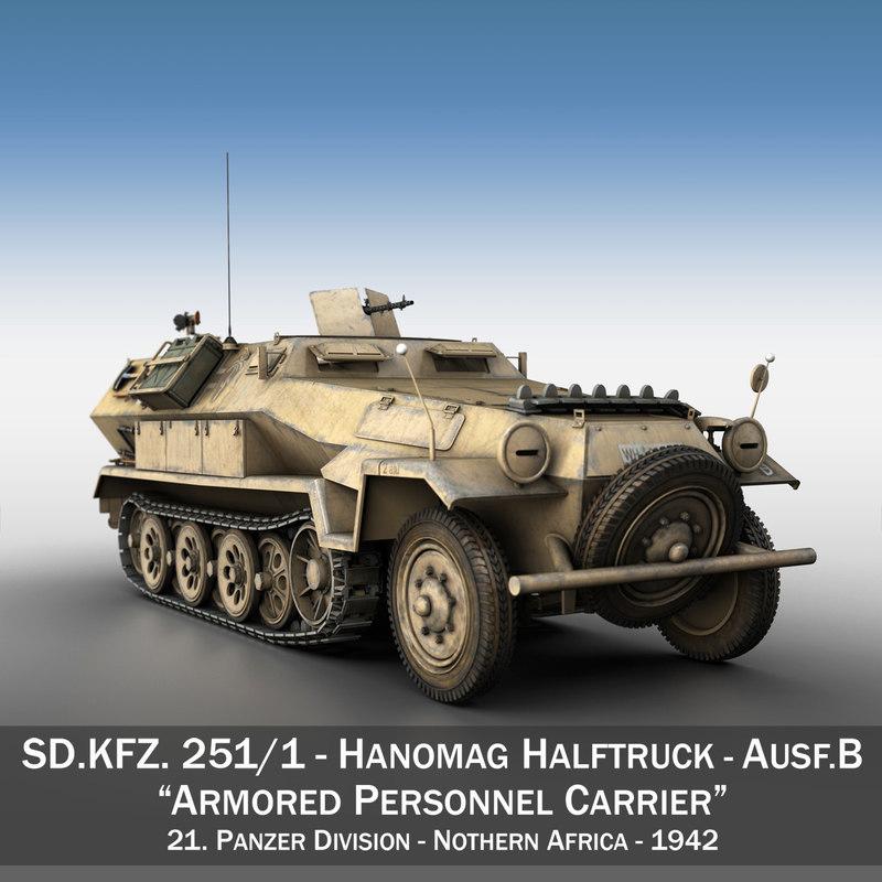 sd kfz 251 1 c4d
