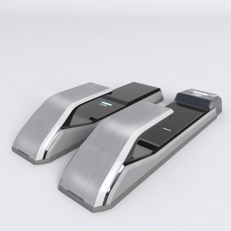 door electric lock 3d model