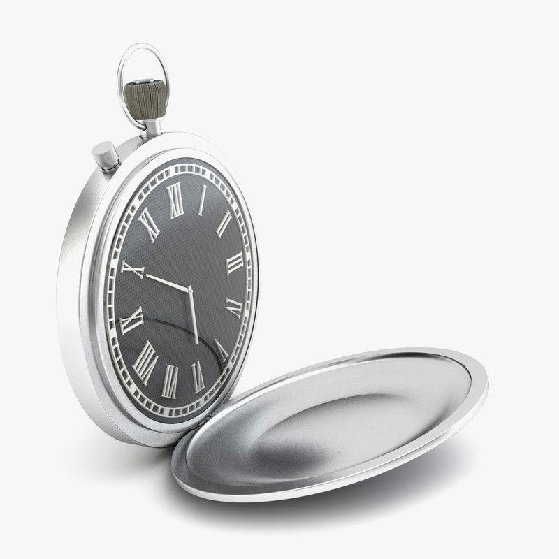 3d c4d pocket watch