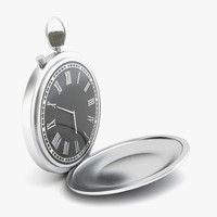 3d c4d pocket watch
