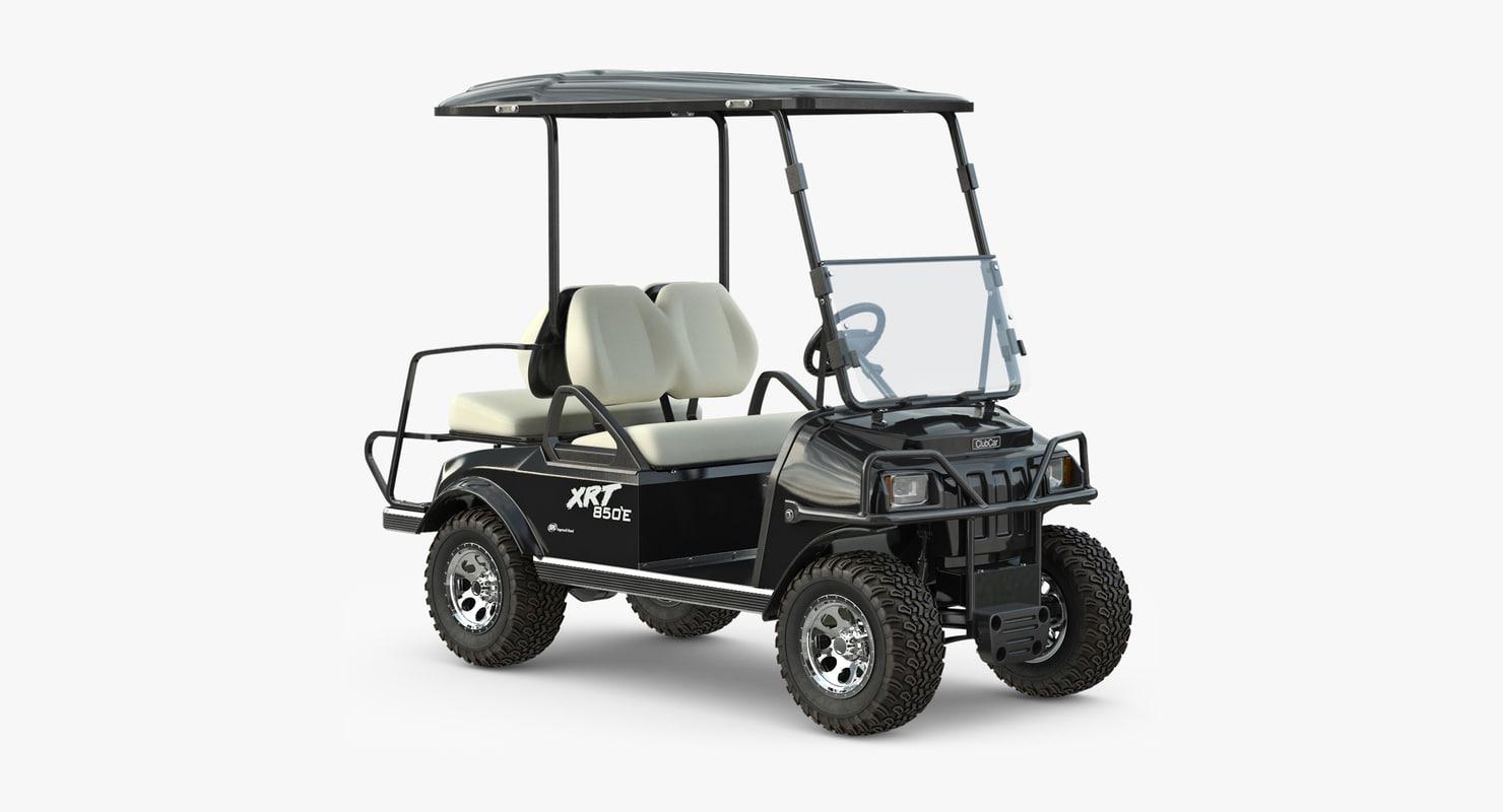 golf car xrt 850 max