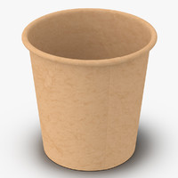3d coffee cup 4oz takeout