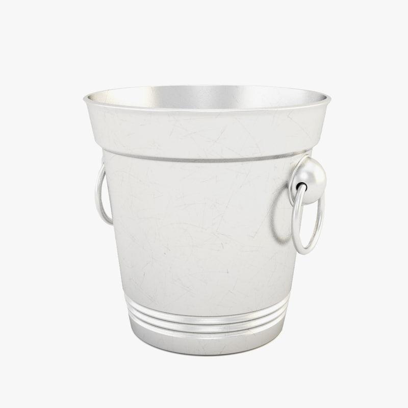 metal bucket 3ds