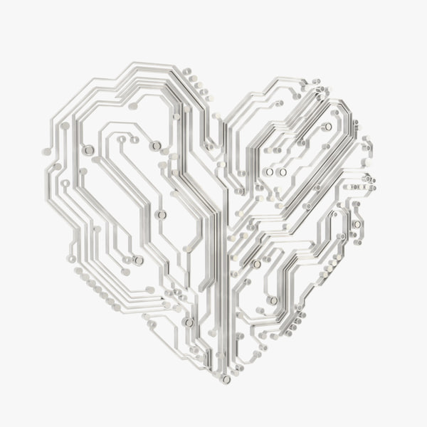 electronic heart 3d 3ds
