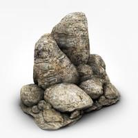 c4d rocks formats