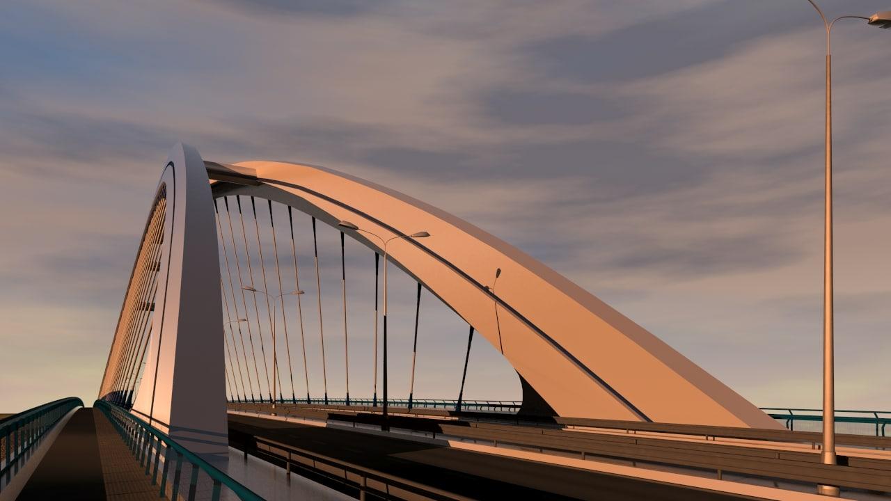 arched bridge max