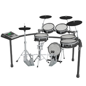 3d model drum kit electronic