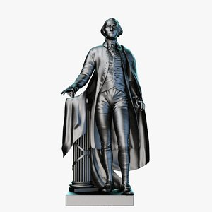 max george washington statue