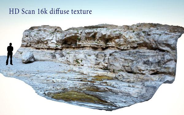 sea cliffs 3d max