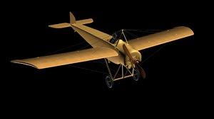 3d airplane moran g model