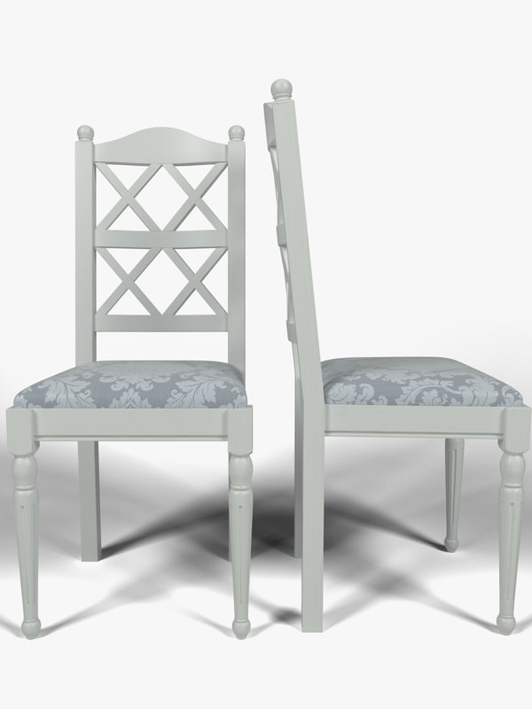 3d model kitchen chair