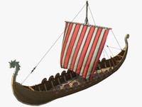 Viking Ship Drakkar