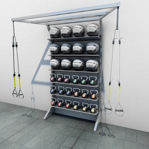 trx medicine kettle ball max