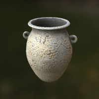 ancient vase 3d model