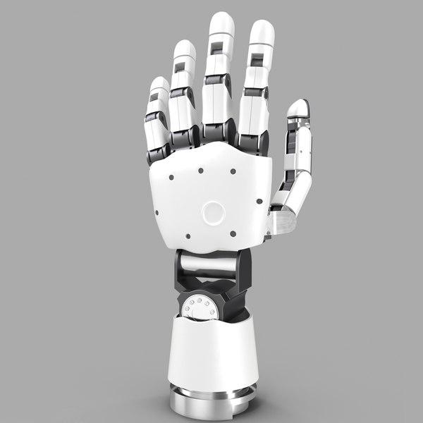 3d modular prosthetic limb model