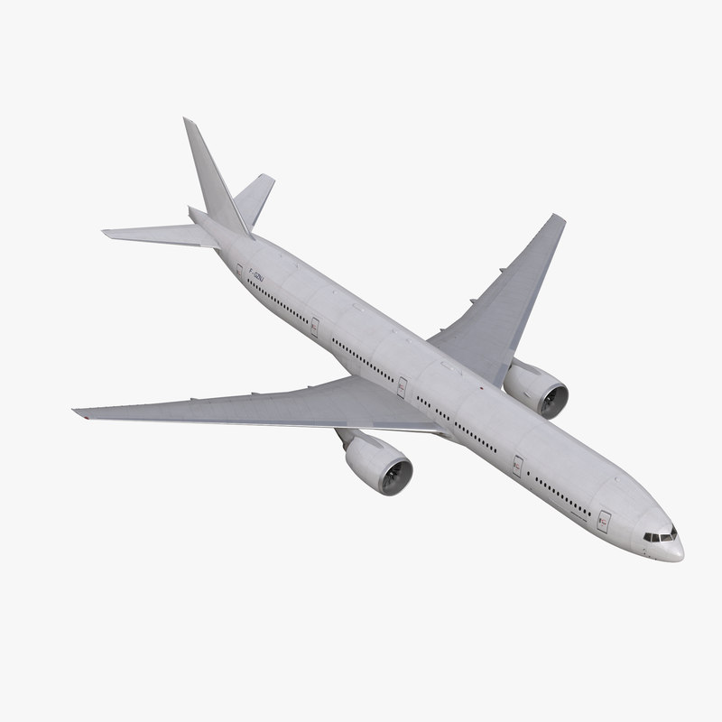 3d model boeing 777 300 generic