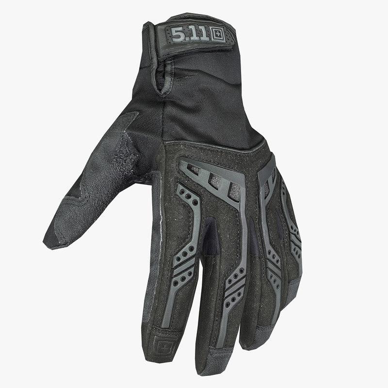 5 11 glove 3d ma