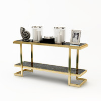 eichholtz console table senato 3d model