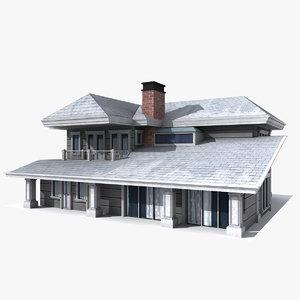 3d model house 01