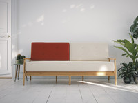 sofa vrayforc4d 3d model