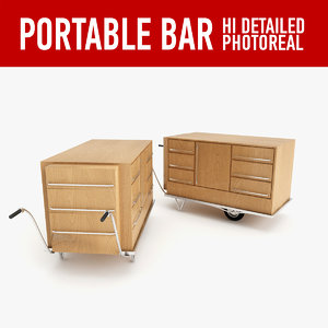 portable bar 3d 3ds