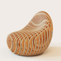 Parametric armchair Bounce