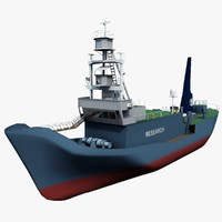 3d model japanese yushin maru