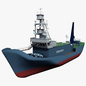 3d model japanese yushin maru