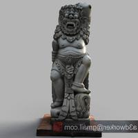 3d model bali sculpture
