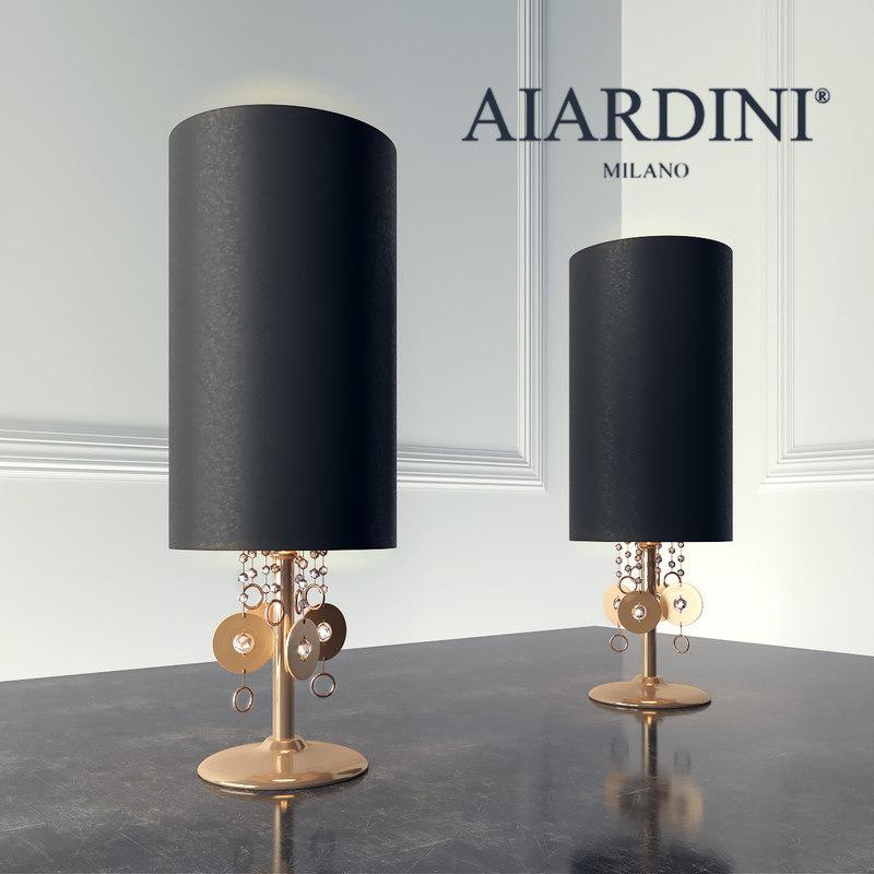 aiardini lamp 3d max