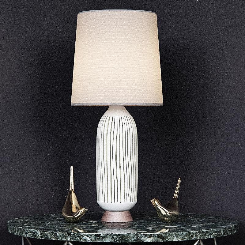 3d century table lamp bullet model