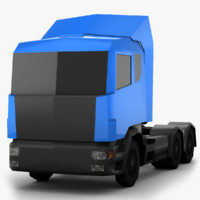 scania - 509 polygons 3ds free