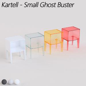 3d kartell small ghost model