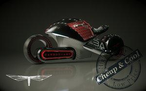 e-bike bike 3d max