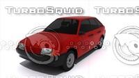 3d model car russian 2109