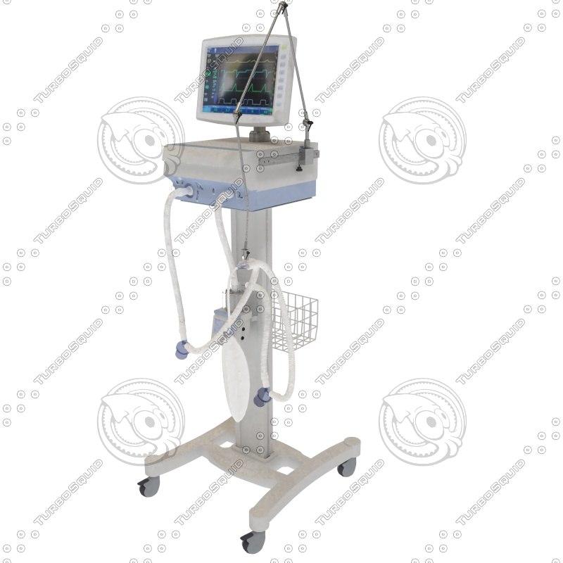 3d hospital ventilator
