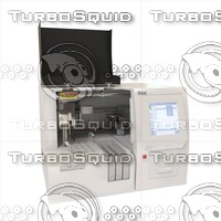 automatic coagulation analyzer rac-050 3d model