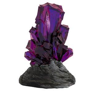 purple crystal max