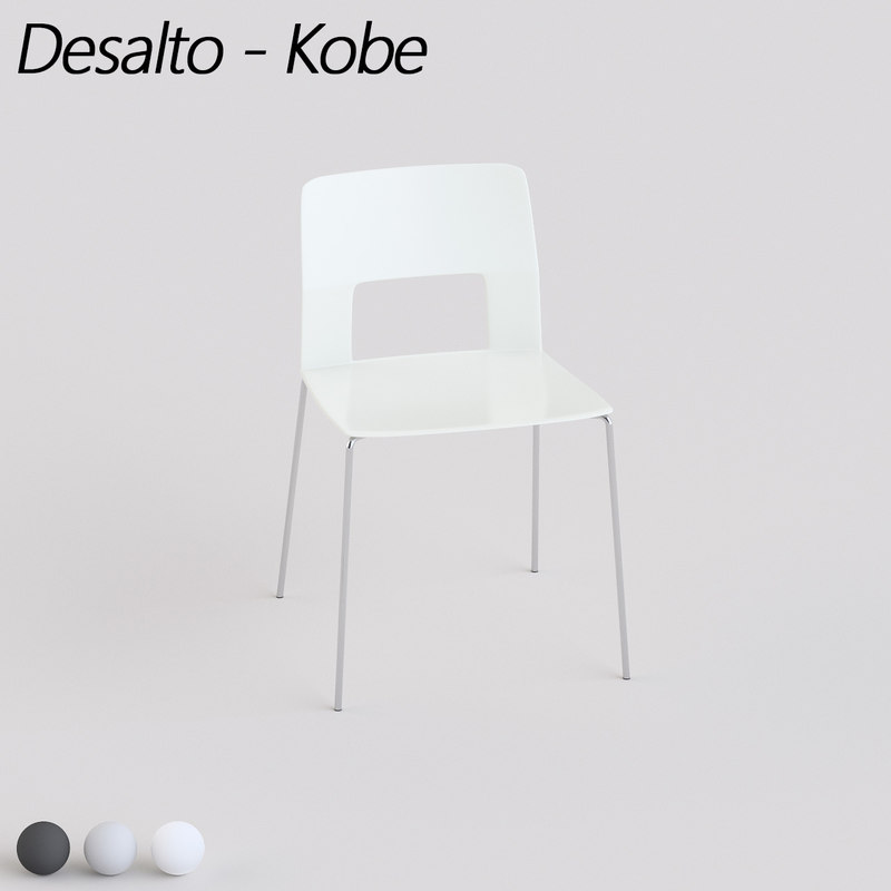 kobe desalto 3d model