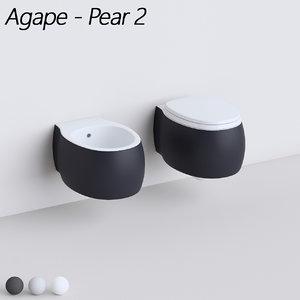 obj agape pear 2