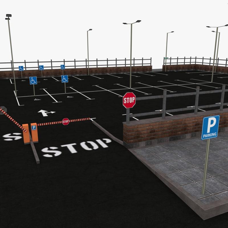 parking lot max