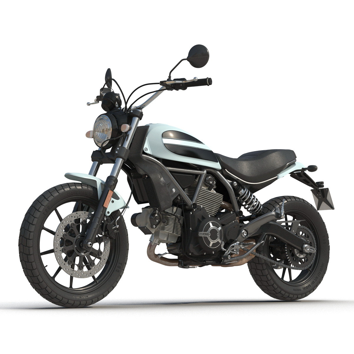 generic motorcycle 3d max