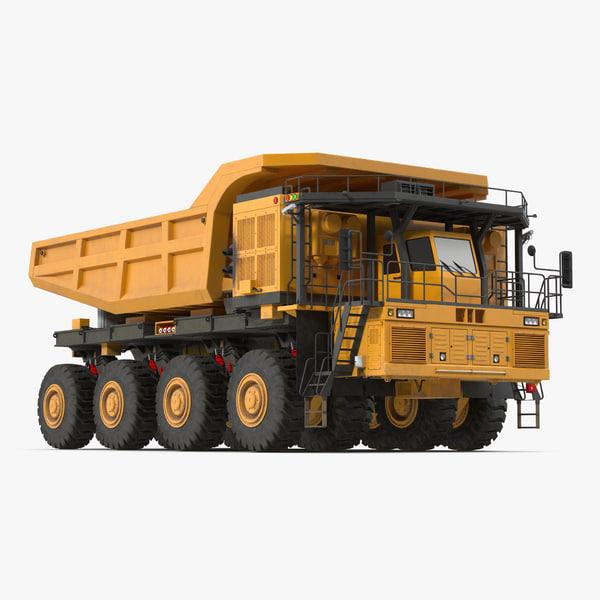 3d model mining truck