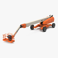 telescopic boom lift jlg 3d max